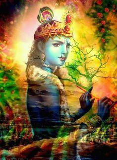 Lord Krishna 🍃🌺 - Hare Krishna ॐ