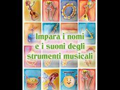 Impara i nomi e i suoni degli strumenti musicali - Canzoni per bambini di Mela Music - YouTube Music Lessons, Little Ones, Piano, Dads, Education, School, Youtube, Projects, Fun