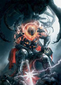 BENDIS!, Marvel cosmic Art gallery by Aleksi Briclot