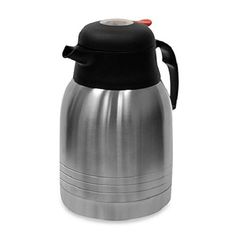 Kurps Double Wall Stainless Steel 1Liter Thermal Carafe with TempAssure Technology -- Details can be found by clicking on the affiliate link Amazon.com.