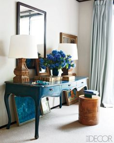 inspiration for sewing table redo