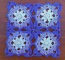 Beautiful Granny Square ~ free crochet patterns ~