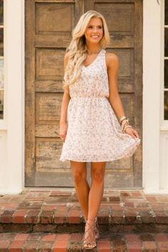 Breaking Plans Dress - Pink
