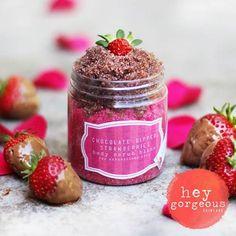 Hey Gorgeous - Chocolate Dipped Strawberries Body Scrub