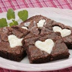 Valentine Brownies | Organic Recipe Book