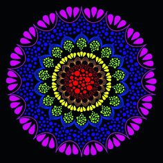 Create beautiful mandalas online class free all month Tribal Art, Outdoor Blanket, Art Prints, Contemporary, Create, Link, Happy, Beautiful, Design