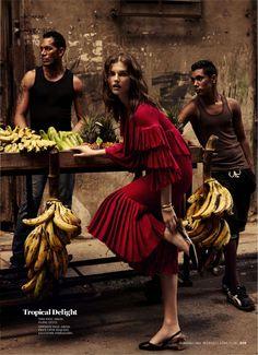 """Havana Days"" Giedre Dukauskaite for Marie Claire US September 2015"