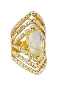 Garland Cocktail Ring by Erica Anenberg on @HauteLook