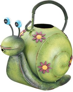 .Snail Watering Can.