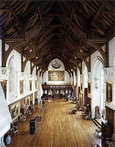 Arundel Castle Baron's Hall, West Sussex