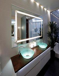 modern lighting fixtures for home decorating | http://www.giesendesign.com/ideas-bathroom/bathroom/
