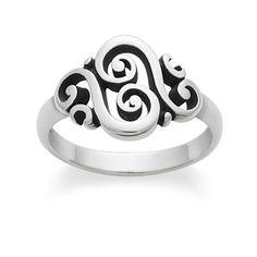 Spanish Swirl Ring #jamesavery