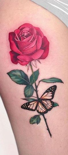 40 female rose tattoos, # rose initial tattoo # rose tattoos # female, # we . Pretty Tattoos, Sexy Tattoos, Unique Tattoos, Cute Tattoos, Beautiful Tattoos, Body Art Tattoos, Sleeve Tattoos, Tattos, Rosen Tattoo Frau