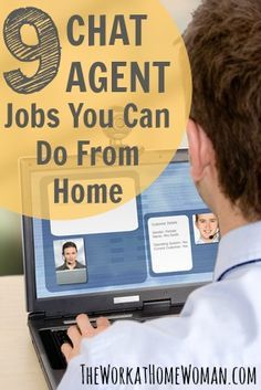 If you want to work from home as an online chat agent, here are some companies to check out! via The Work at Home Woman