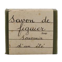 Handwritten, Cote Bastide Fig Soap.