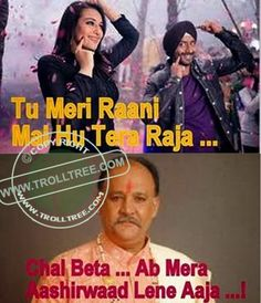 Get all the #entertainment stuff , latest #jokes, #CID trolls, #Funny #Pictures, all types of funny pictures of #actors, #cricketers & #celebrities. So enjoy with all the latest Jokes & other funny & humorous material , share your #comments only on @ www.trolltree.com Funny #Bollywood ( #Sonakshi vs #Aaloknath ) #Trolls : The Ultimate #Raja & #Rani