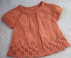 Jacheta orange tricotata
