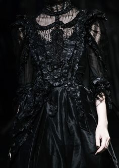 Image result for gothic victorian couture