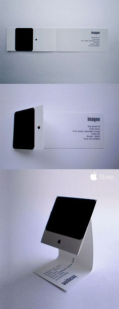 Apple iMac 名片設計 | MyDesy 淘靈感