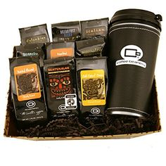 Specialty Basket *** Read more at the image link. Tea Gifts, Coffee Gifts, Coffee Drinks, Coffee Coffee, Coffee Gift Baskets, Italian Coffee, Gourmet Recipes, Image Link, Italian Cafe