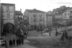 Arco do Marquês de Alegrete, depois da demoliçã