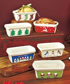 Holiday Loaf Pan Sets|The Lakeside Collection