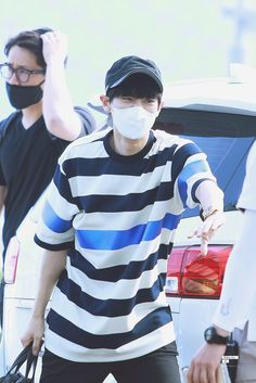 Chanyeol | 150619 Incheon Airport departing for Bangkok