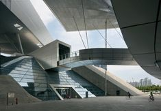 Modern Architecture, Busan Cinema Center - Coop Himmelb(l)au