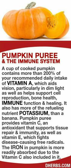 Health Beauty Remedies A cup of cooked pumpkin contains more than of your RDA of vitamin A, which aids vision, particularly in dim light as well as helps support cell reproduction, bone health, immune function Natural Medicine, Herbal Medicine, Herbal Remedies, Health Remedies, Natural Cures, Natural Health, Health And Nutrition, Health And Wellness, Nutrition Store