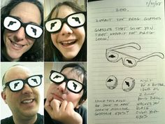Kermit glasses