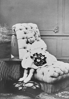 Princess Viktoria as a child