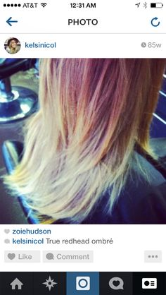 #redombre #hairlove Love this photo! #Sterlingsalon Love this photo! #Sterlingsalon #summer #hair #blonde #love #fall #stylish #2014 #trend #beachy #waves #product #style #color #layers #texture #awesome #beforeandafter  #ilovehair #davines #beforeandter #kelsidowneystylist #ombre