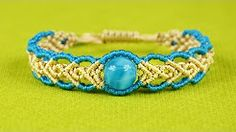 macrame school bracelets - YouTube