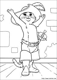 27 Puss In Boots Printable Coloring Pages For Kids Find On Book Thousands Of