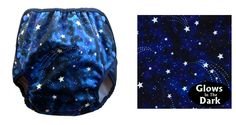 Name: Starstruck  Fabric & Designer: Star Magic by Michael Miller  Cover Type: Classic, Universal  Sizes Produced: XS-XL, S & L   Visit GEN-Y for more cloth diaper covers!