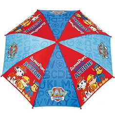 Paraguas antiviento Patrulla Canina Paw Patrol apertura seguridad 42cm - http://comprarparaguas.com/baratos/patrulla-canina/paraguas-antiviento-patrulla-canina-paw-patrol-apertura-seguridad-42cm/