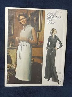 Vogue Americana Teal Traina 2523 UNCUT 8+fr