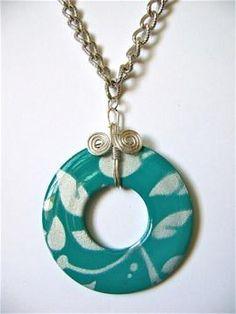 DIY Necklace  : DIY lowes-pendant