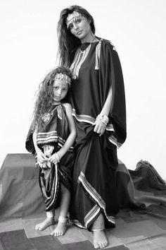 Algerian Fashion: Chaoui dress