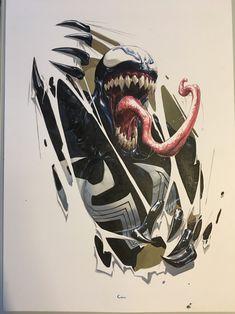 Venom Inc 1 by Clayton Crain Comic Art