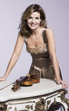 Violinist Anne Sophie Mutter  born June 29, 1963 Is A German Violin Virtuoso.