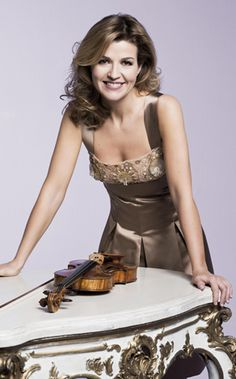 Violinist Anne Sophie Mutter born June 29, 1963 Is A German Violin Virtuoso.