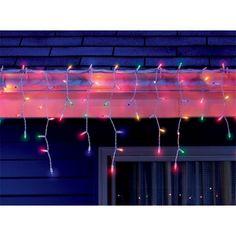 Celebrations Multi-Colored Mini Icicle Outdoor 300 Light Set - Ace Hardware