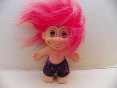 vintage russ berrie 49ers nfl troll plush troll doll in football