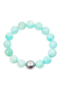 The Woods Fine Jewelry - Amazonite Bead Bracelet,