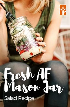 The trick to a fresh mason jar salad is in the layering technique. Head to our blog to learn more, plus an extra juicy green goddess recipe!