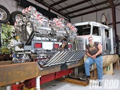 Mike Harrahs Outrageous Supercharged 24 Cylinder Truck Engine Chevy And Gmc Duramaxsel Forum Cars
