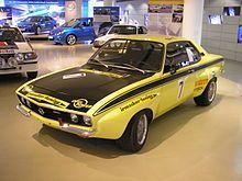 Opel Manta A raceuitvoering