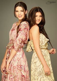 Kendall and Kylie Jenner love them