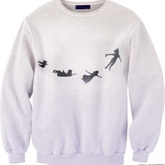 Peter Pan! I think i want to make a tshirt like this for the color run (i dont think the sweatshirt is working here)